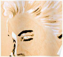 Marilyn Monroe detail portrait Poster
