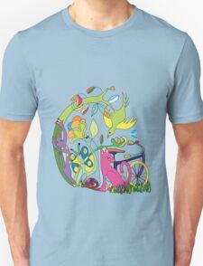 Garden of Earthly Bikes Unisex T-Shirt