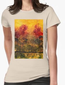 In A Land Far Away Womens Fitted T-Shirt