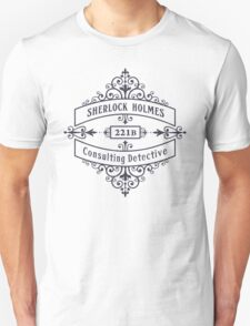 Consulting Detective (blue) Unisex T-Shirt