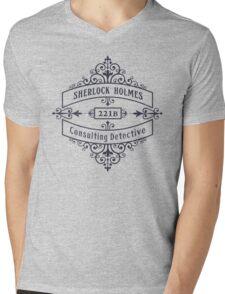 Consulting Detective (blue) Mens V-Neck T-Shirt