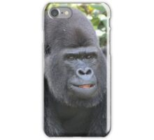 Djala The Silverback Gorilla #4 iPhone Case/Skin