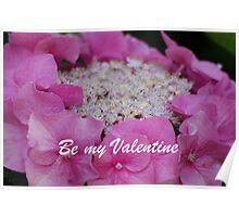 Be my Valentine Poster