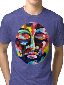 Color Full Face Tri-blend T-Shirt