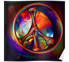 Peace Ring Poster