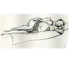 Reclining2 Poster