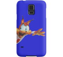 Bubsy popping into view Samsung Galaxy Case/Skin