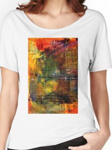 The House Jack Built in the Town Angela Imagined Women's Relaxed Fit T-Shirt