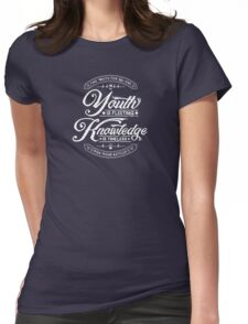 Fleeting youth Womens Fitted T-Shirt