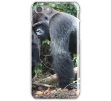 Djala The Silverback Gorilla #2 iPhone Case/Skin
