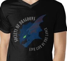 Life by the Lance Mens V-Neck T-Shirt