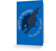 Life by the Lance Greeting Card