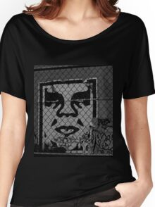 OBEY the GIANT - Shepard Fairey Women's Relaxed Fit T-Shirt