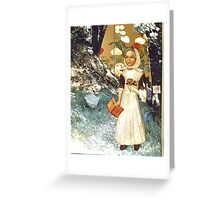 California Naif Greeting Card