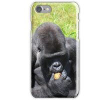 Djala The Silverback Gorilla #5 iPhone Case/Skin