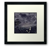 I Lay And Wait For You Framed Print