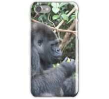 Djala The Silverback Gorilla #3 iPhone Case/Skin