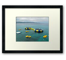 Boucing Jamaica Framed Print