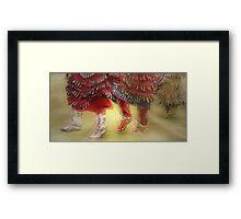 The Jingle Dress Dance Framed Print