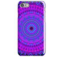 Purple Psyche Mandala iPhone Case/Skin