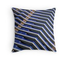 Docklands apartment building, Melbourne Throw Pillow