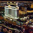 Vegas Nightscape by kuntaldaftary