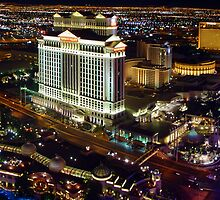 Vegas Nightscape by kuntaldaftary