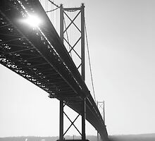 Forth Road Bridge, Scotland by caldersibbald