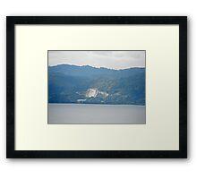 Jamaican Mountains  Framed Print