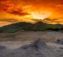 Mud Volcanoes by Bogdan Ciocsan