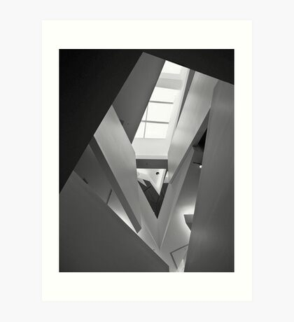 Ian Potter Gallery, Federation Square, Melbourne Art Print