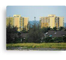 Jamaica Hotels Canvas Print