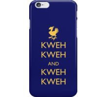 Keep Calm Chocobo iPhone Case/Skin
