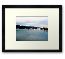 Jamaica Harbor Framed Print