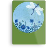 Have you ever seen a dragon fly? Metal Print