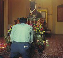 Prayers at the Silver Pagoda by RobAllsop
