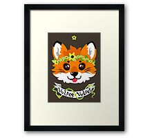 Stellified - Red Fox Framed Print
