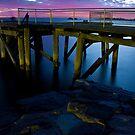 Morning Fish - Port Elliot Pier by Anthony Evans