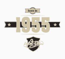 Born in 1955 (Cream&Choco) Baby Tee