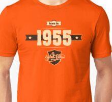 Born in 1955 (Cream&Choco) Unisex T-Shirt