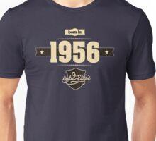 Born in 1956 (Cream&Choco) Unisex T-Shirt