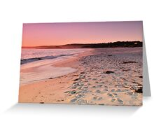 Dawn at the Bay of Fires Greeting Card