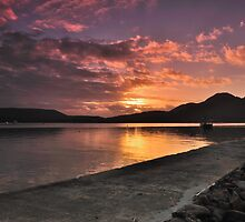 Sunrise at Coles Bay by Robin Young