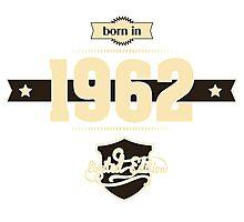 Born in 1962 (Cream&Choco) Photographic Print