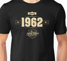 Born in 1962 (Cream&Choco) Unisex T-Shirt