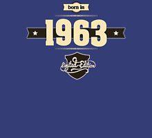 Born in 1963 (Cream&Choco) Unisex T-Shirt