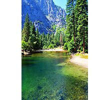 Yosemite National Park landscape photography Photographic Print