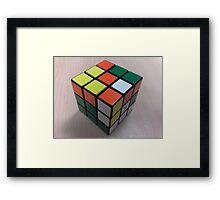It's Not Rubik's... It's Mine... Framed Print