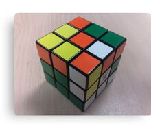 It's Not Rubik's... It's Mine... Canvas Print