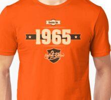 Born in 1965 (Cream&Choco) Unisex T-Shirt
